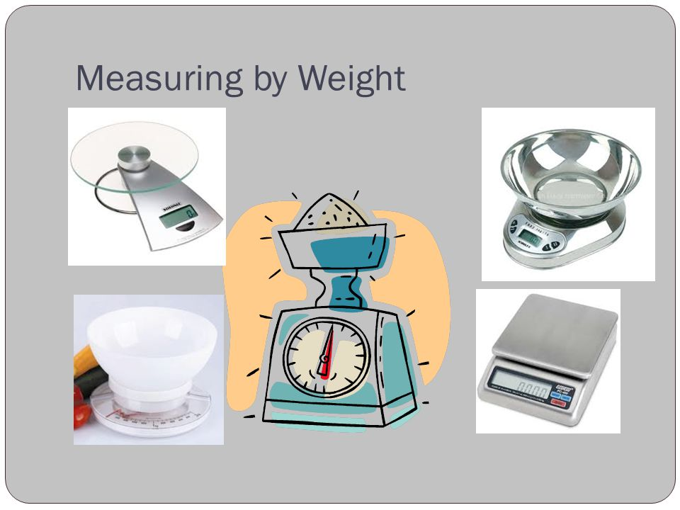 Measuring by Weight
