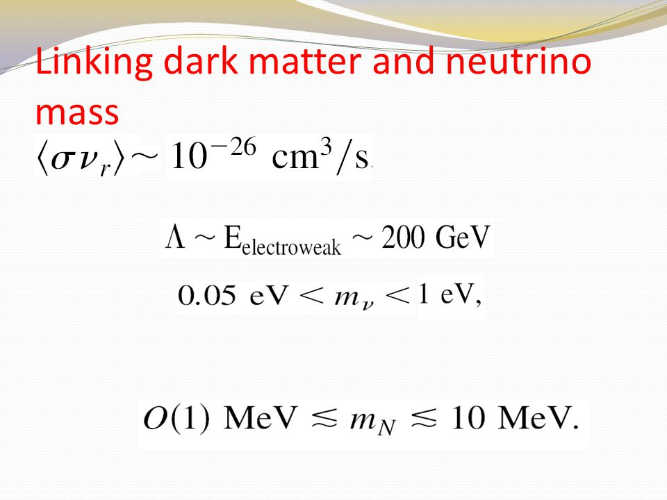 Linking dark matter and neutrino mass