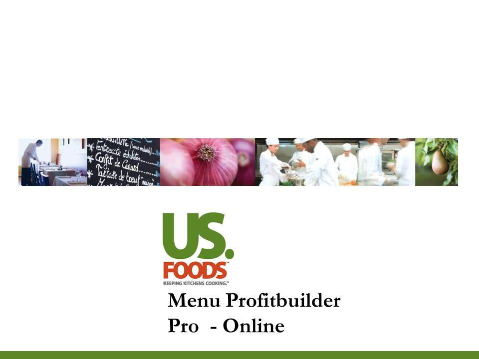 Menu Profitbuilder Pro - Online