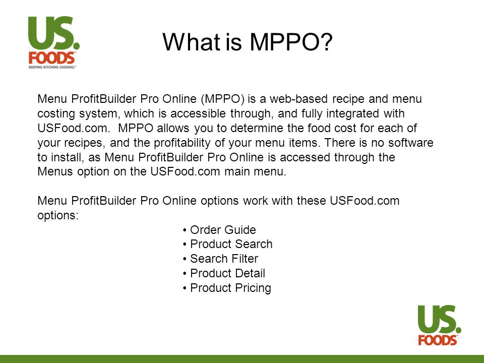 What is MPPO.