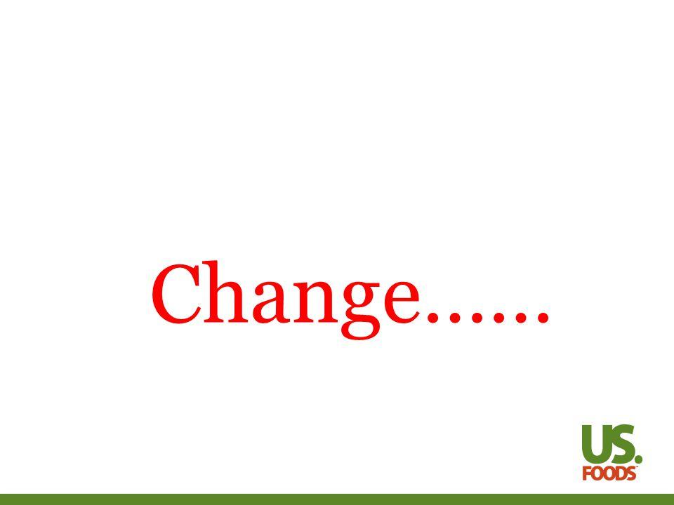 Change……