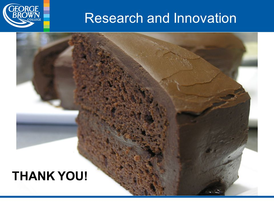 Research and Innovation THANK YOU!