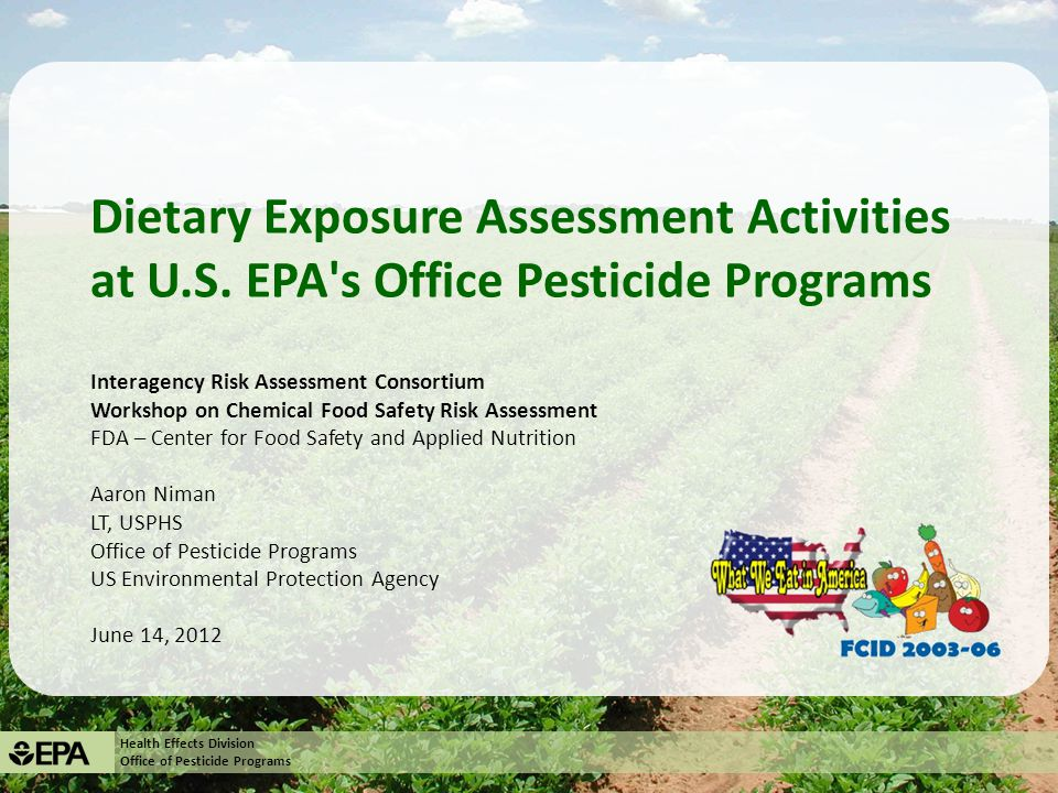 Health Effects Division Office of Pesticide Programs SHEDS-Dietary v.1: Uncertainty Analysis 22