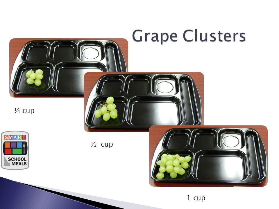 ¼ c Fruit ½ c Fruit 1 c Fruit ¼ cup ½ cup 1 cup