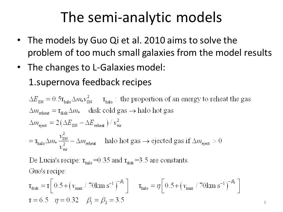 The models by Guo Qi et al.