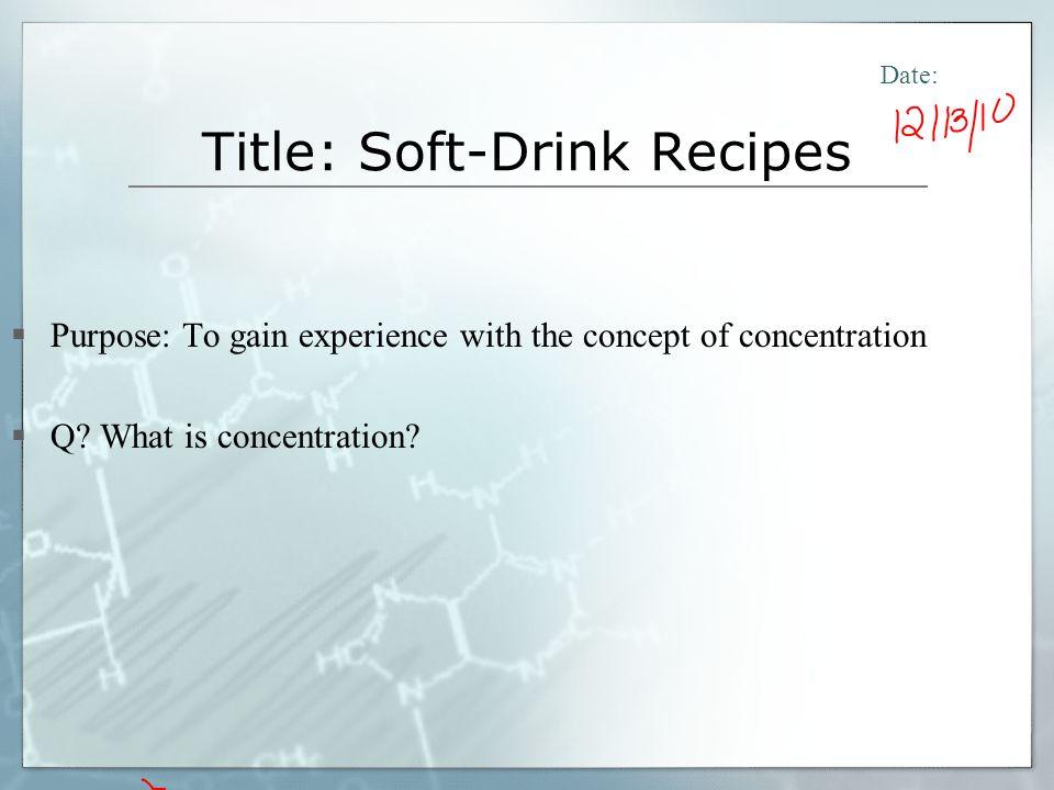 Concentration Investigation 3