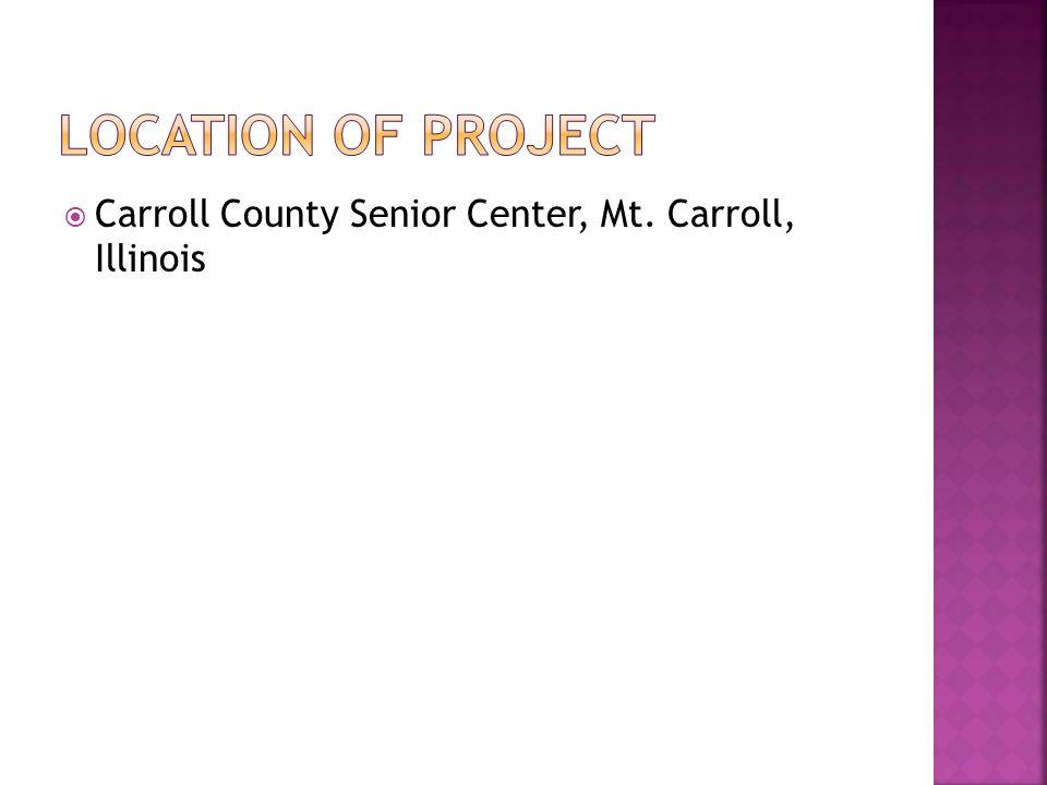 Carroll County Seniors