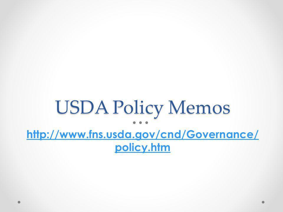 Online training modules http://healthymeals.nal.usda.gov/mealpattern 44