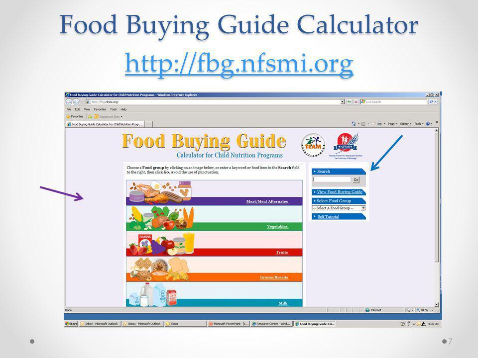 Choose My Plate Resources http://www.choosemyplate.gov/food-groups/vegetables.html 18