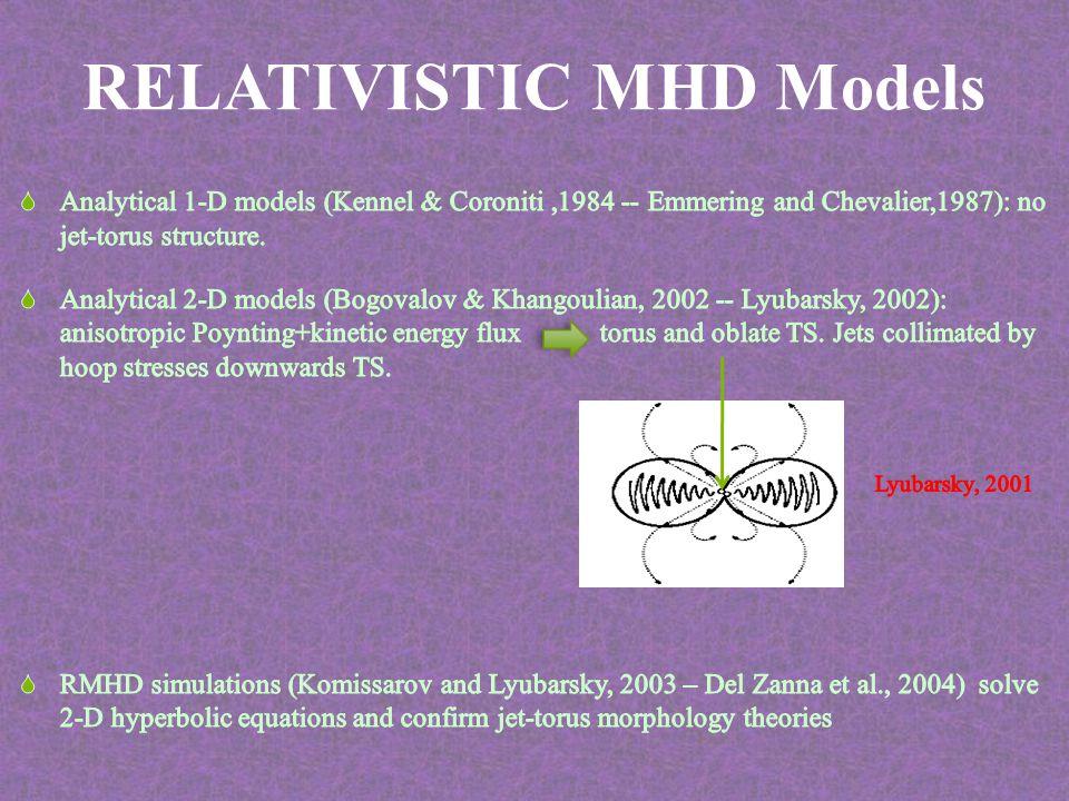 RELATIVISTIC MHD Models