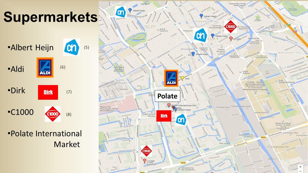 Prices Price: Polate & Aldi Variety: Albert Heijn & Aldi