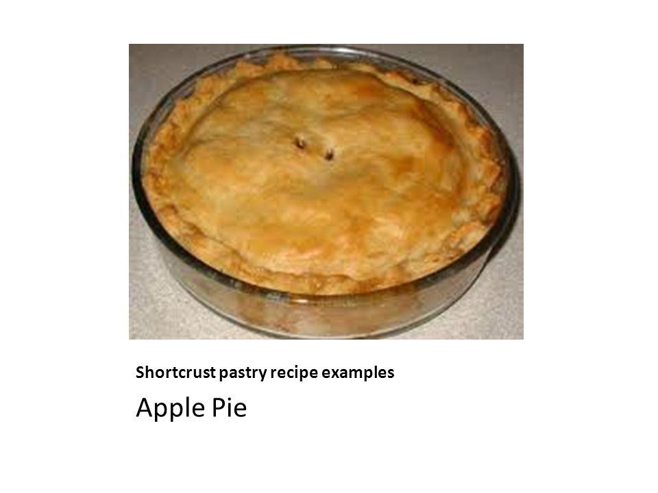 Shortcrust pastry recipe examples Apple Pie