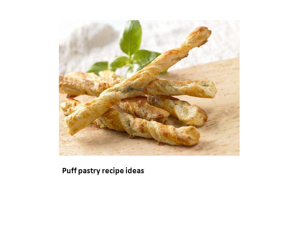 Puff pastry recipe ideas