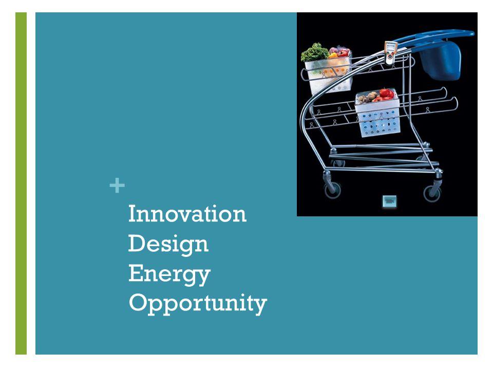 + Innovation Design Energy Opportunity