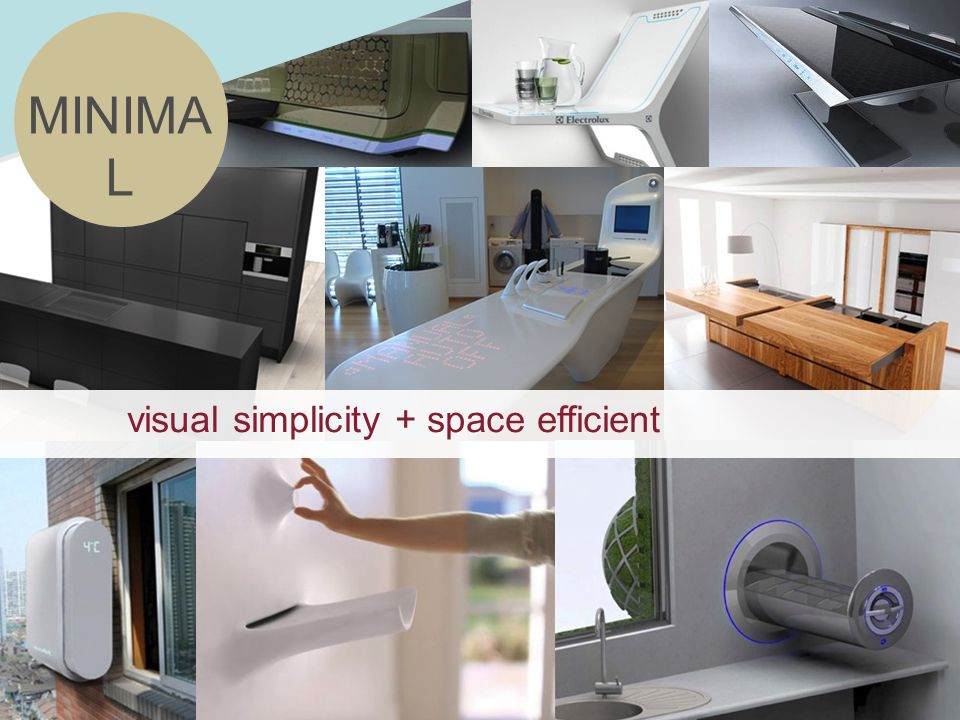 MINIMA L visual simplicity + space efficient
