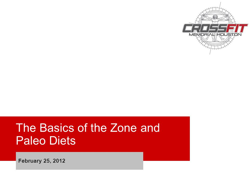 The Basics of the Zone and Paleo Diets February 25, 2012