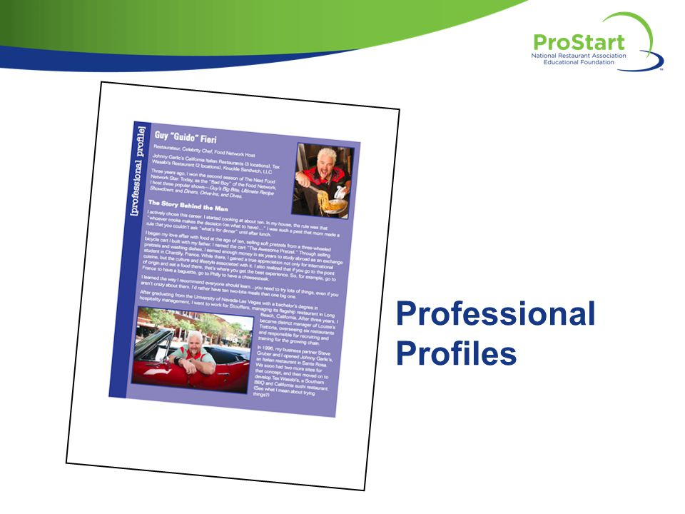 Professional Profiles