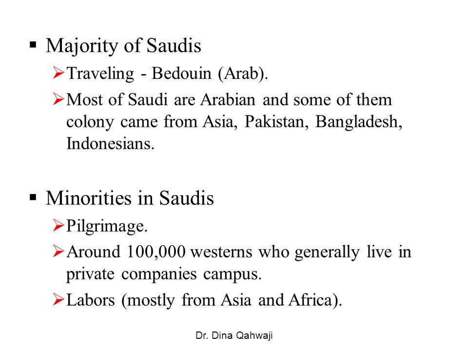 Majority of Saudis Traveling - Bedouin (Arab).