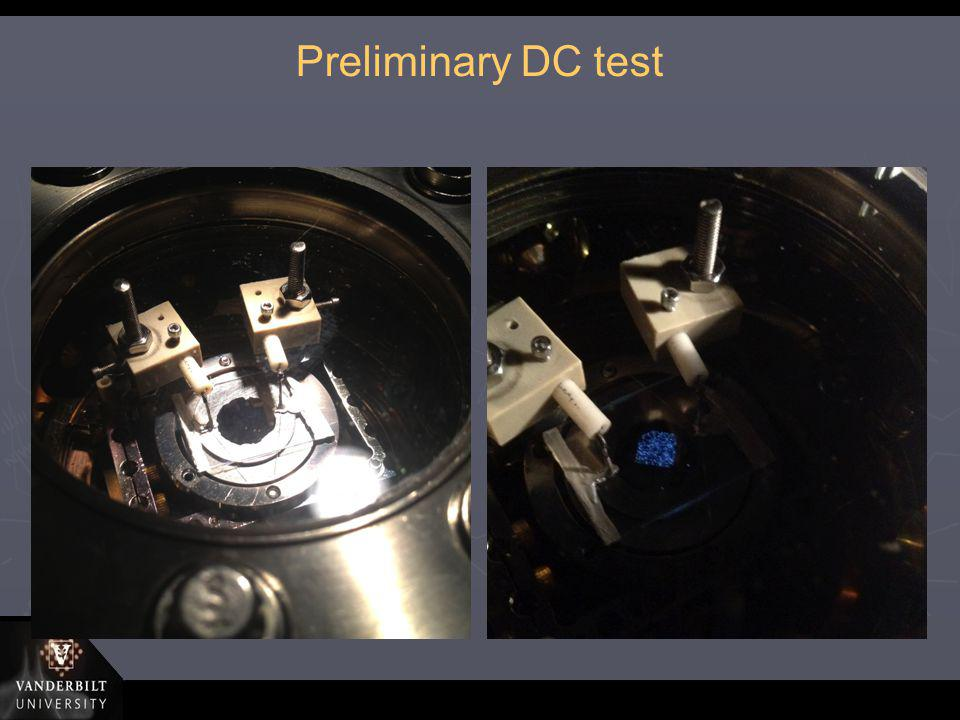 Preliminary DC test