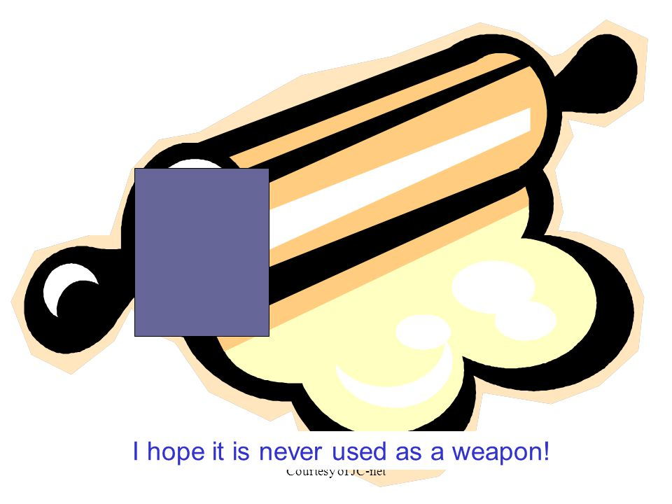 Courtesy of JC-net I hope it is never used as a weapon!
