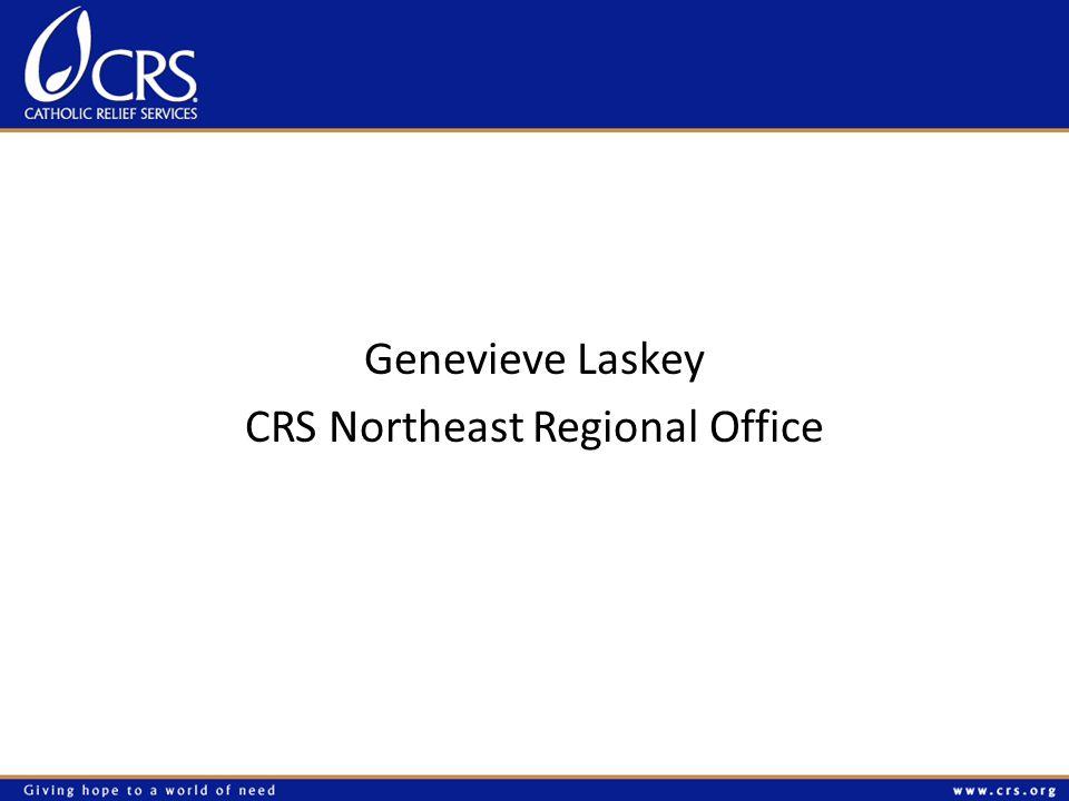Genevieve Laskey CRS Northeast Regional Office