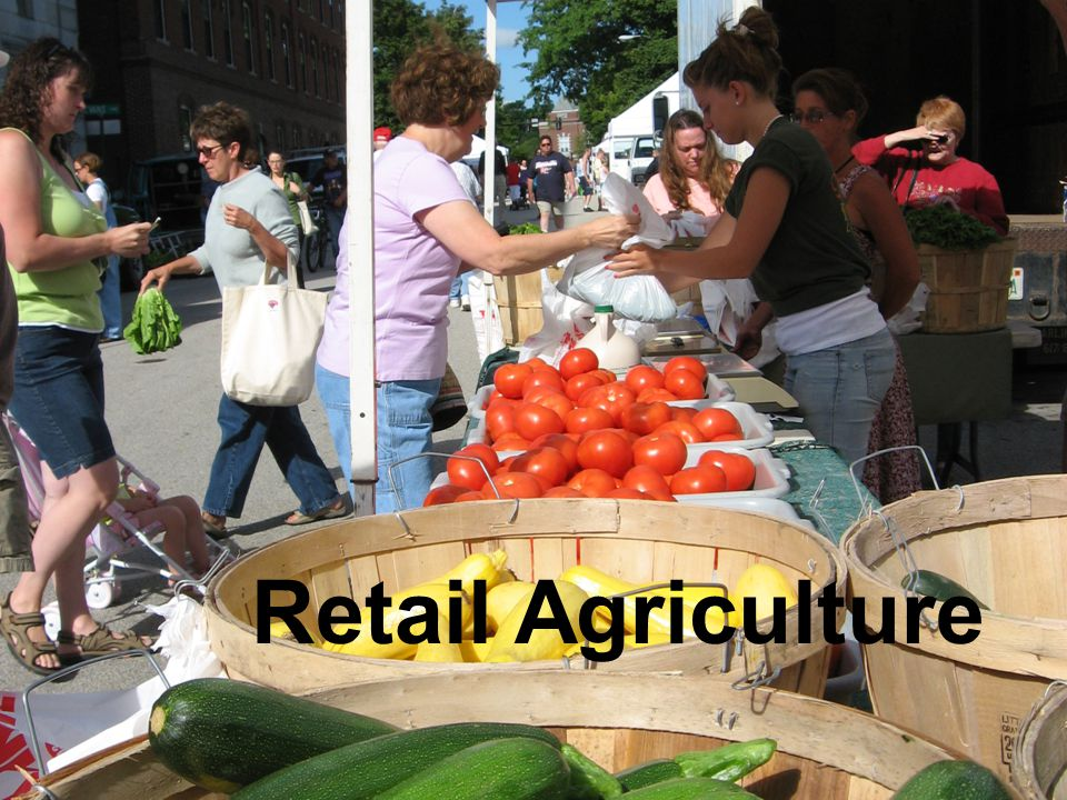 Retail Agriculture