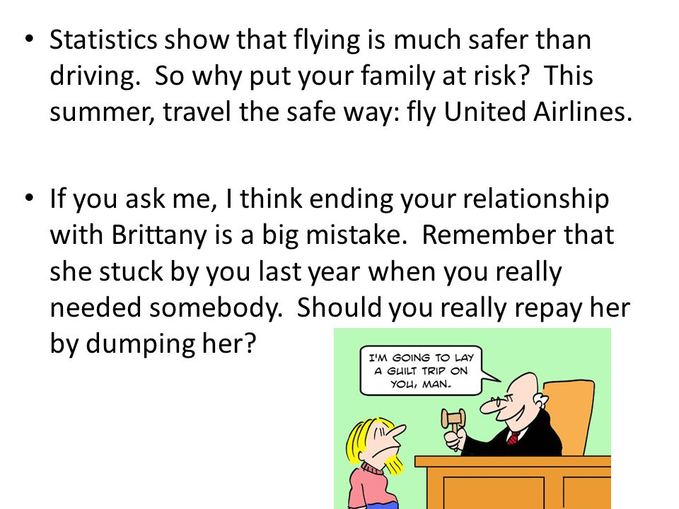 Statistics show that flying is much safer than driving.