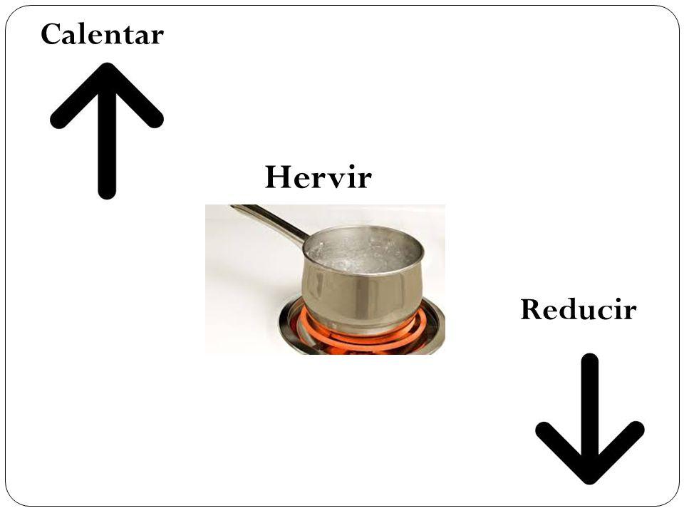 Hervir Reducir Calentar