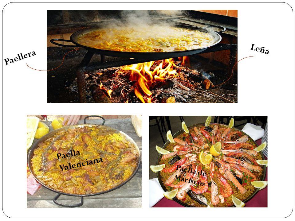 Paella Valenciana Paellera Leña Paella de Mariscos