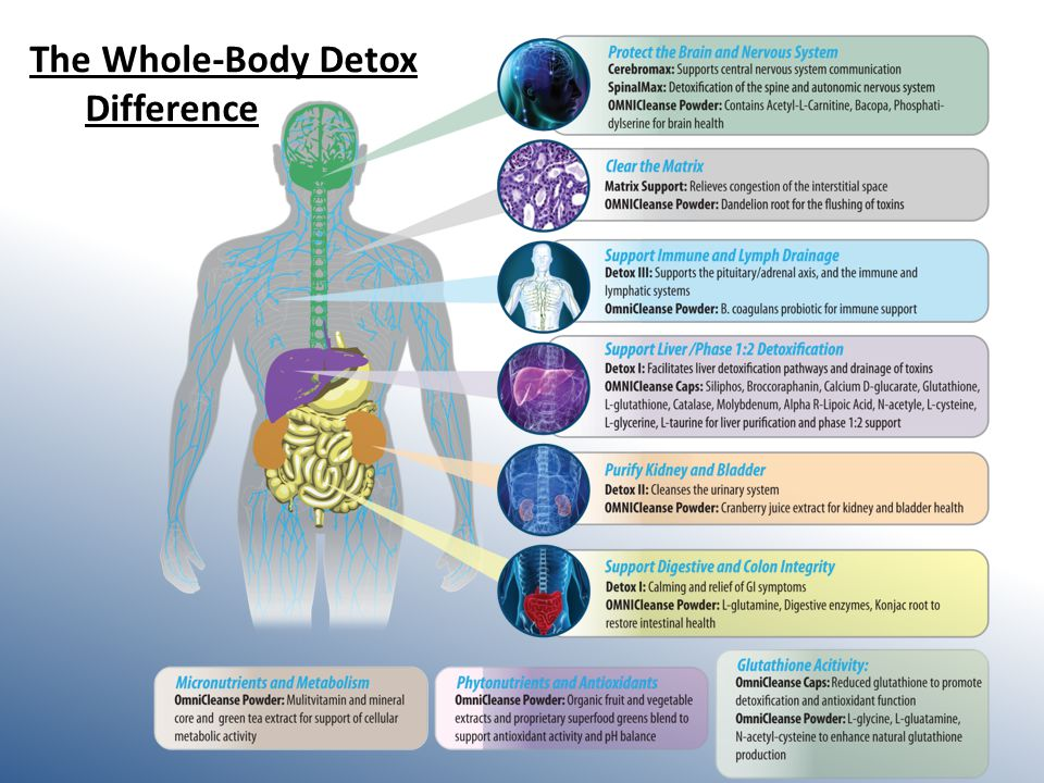 The Whole-Body Detox Difference