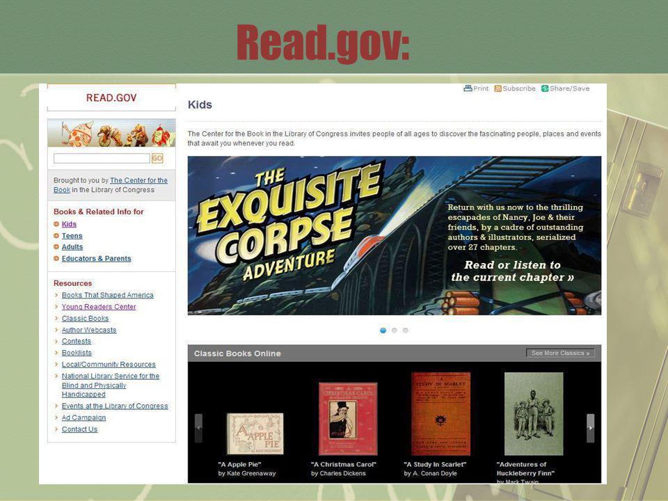 Read.gov: