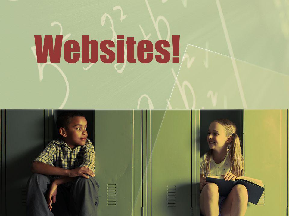 Websites!
