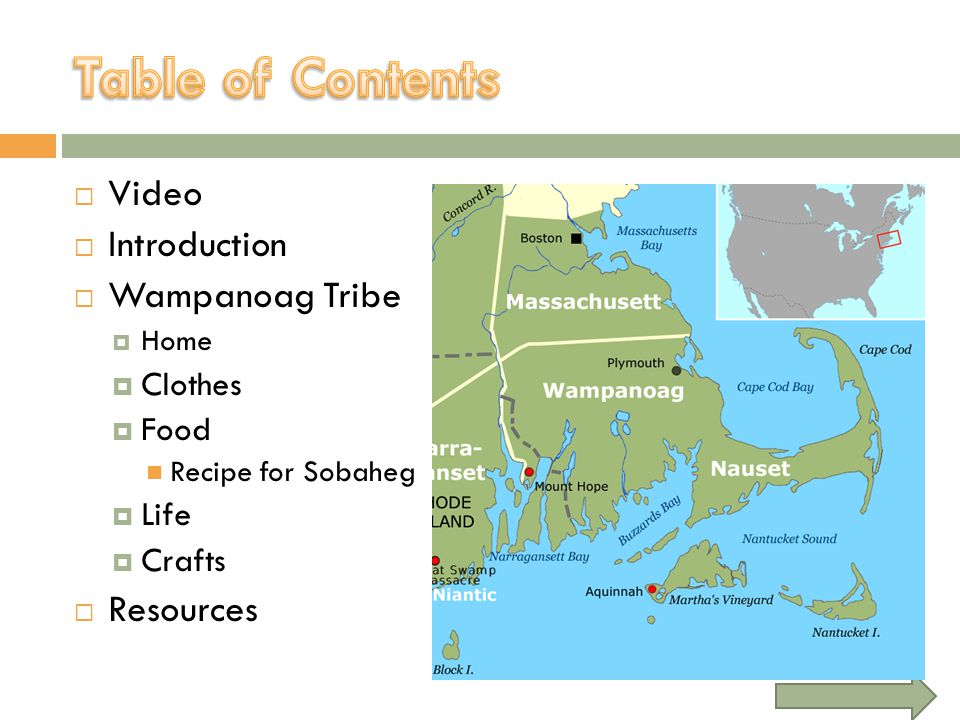 Video Introduction Wampanoag Tribe Home Clothes Food Recipe for Sobaheg Life Crafts Resources