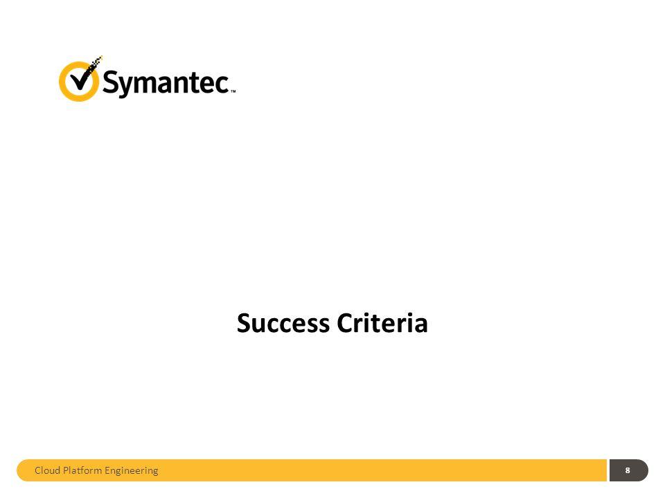 8 Success Criteria