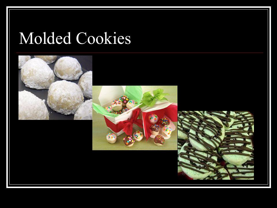 Molded Cookies