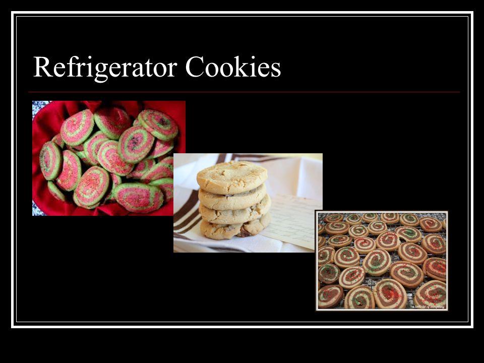 Refrigerator Cookies