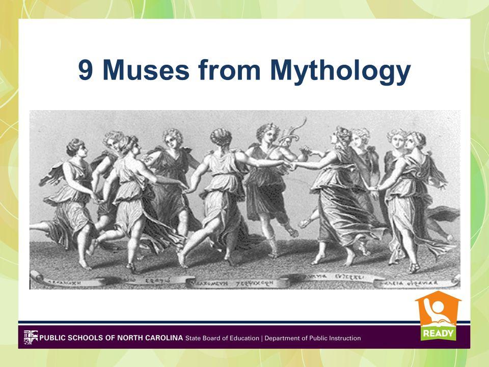 9 Muses from Mythology