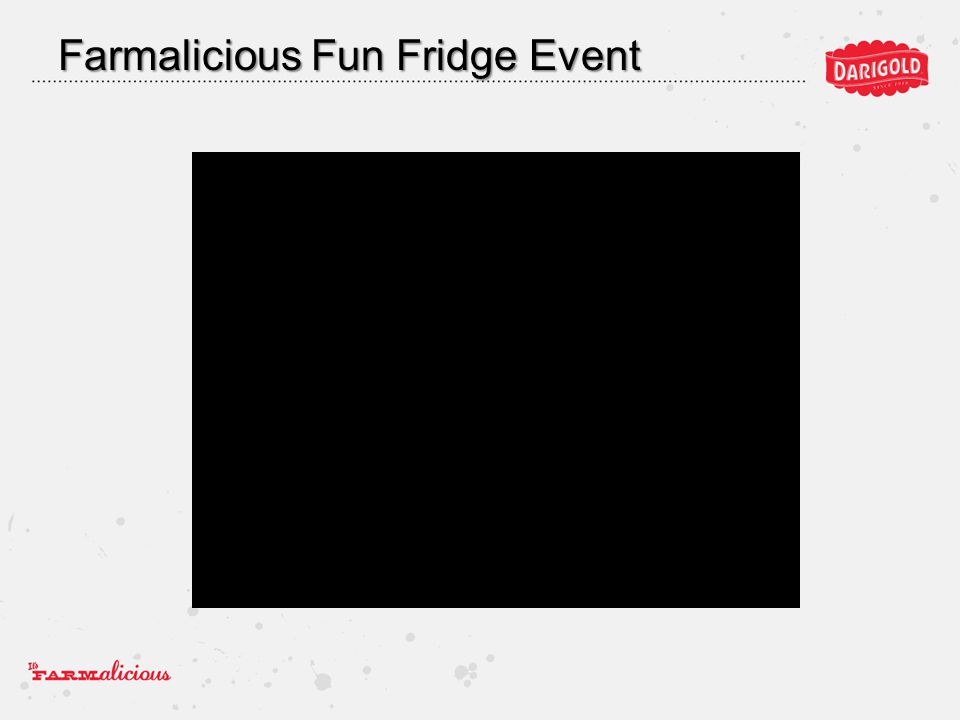Farmalicious Fun Fridge Event