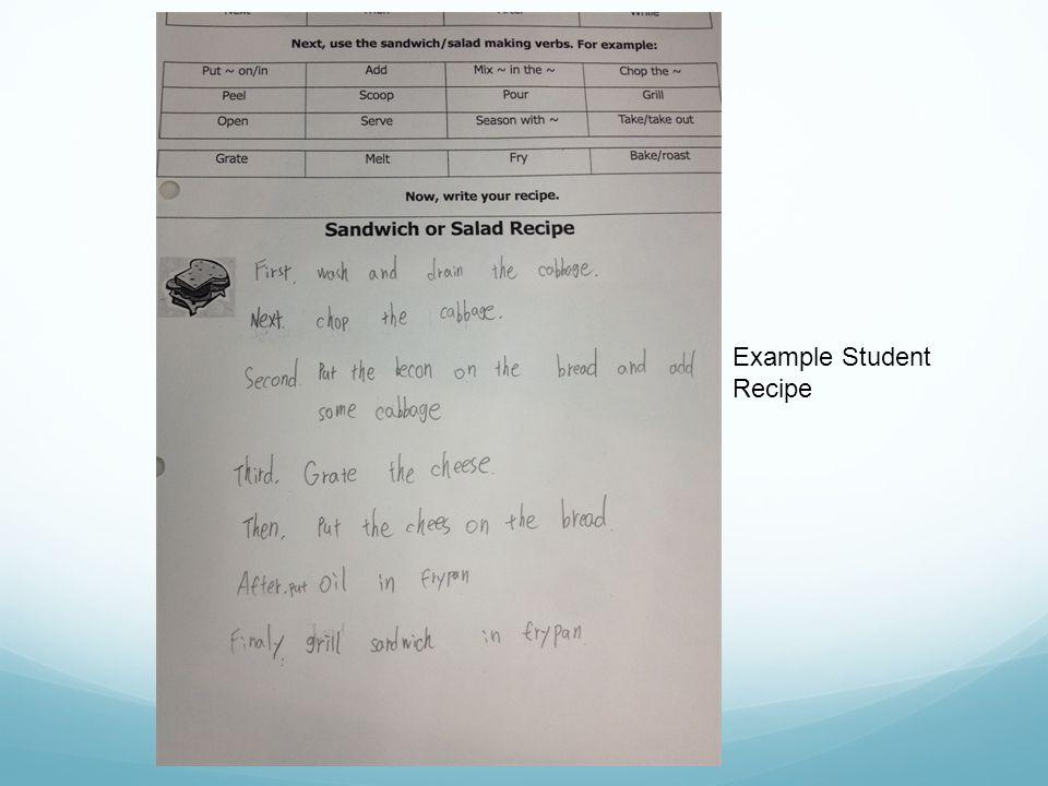 Example Student Recipe