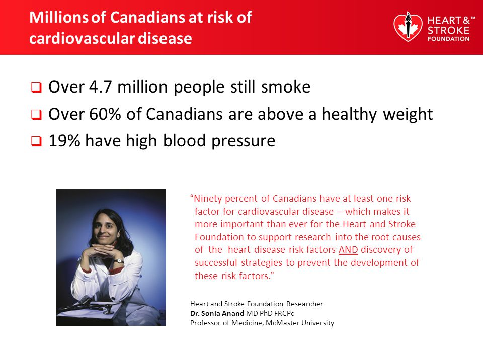Be smoke-free Smoking cessation programs improve the chances of quitting Visit heartandstroke.ca for tips on quitting successfully After you quit smoking, your risk of heart attack begins to decrease within just two days.