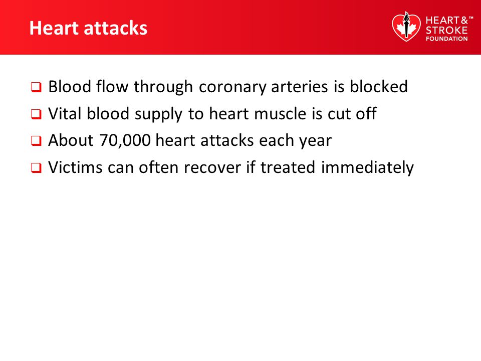 Warning signs of a heart attack Chest discomfort (uncomfortable chest pressure, squeezing, fullness or pain, burning or heaviness) Discomfort in other areas of the upper body (neck, jaw, shoulders, arms, back)