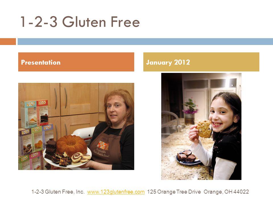 1-2-3 Gluten Free 1-2-3 Gluten Free, Inc.