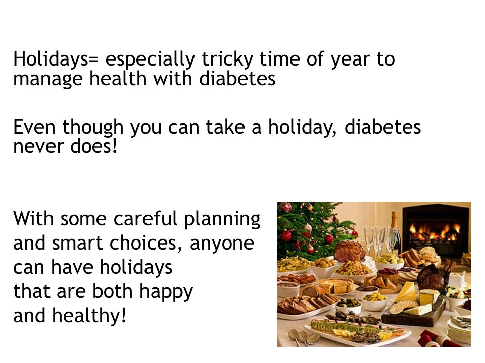 Holiday Stress and Diabetes