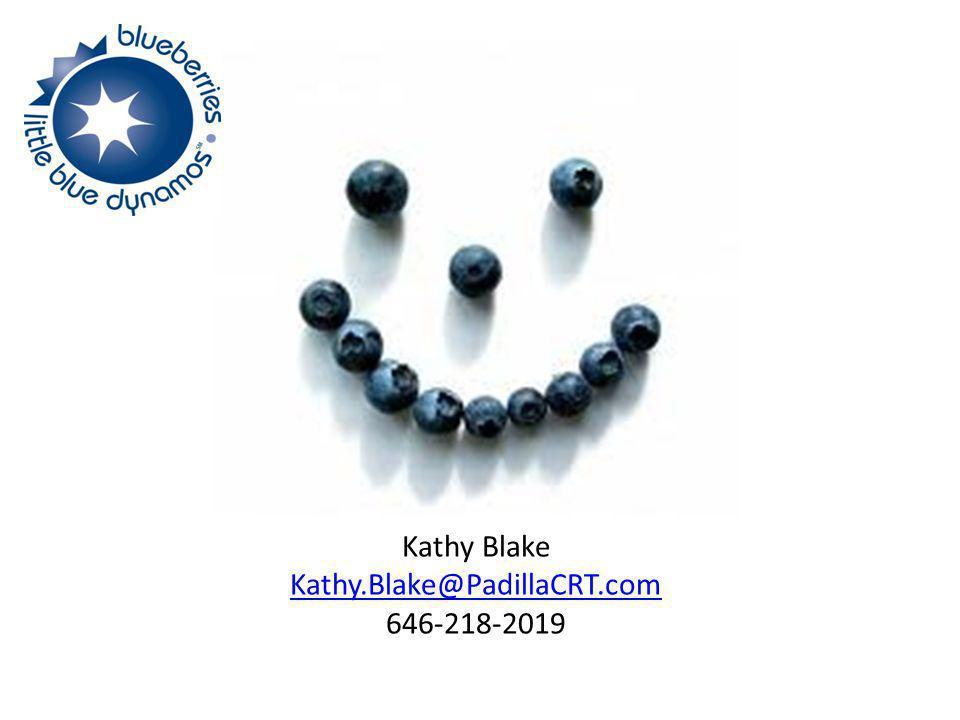 Kathy Blake Kathy.Blake@PadillaCRT.com 646-218-2019