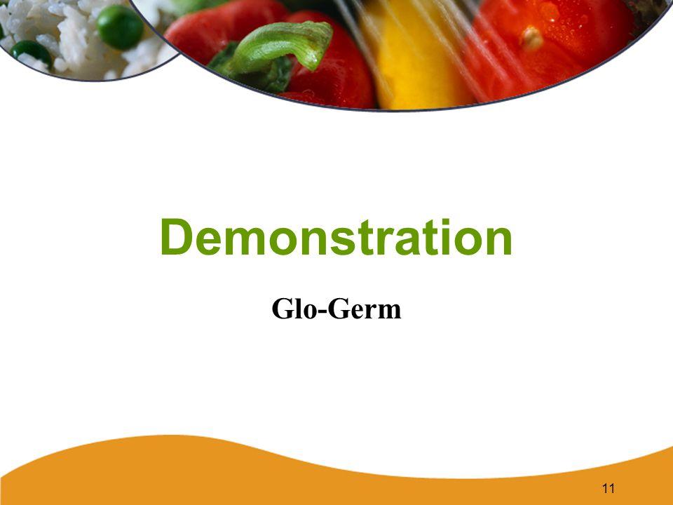 Demonstration Glo-Germ 11