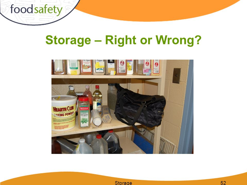 Storage52 Storage – Right or Wrong?