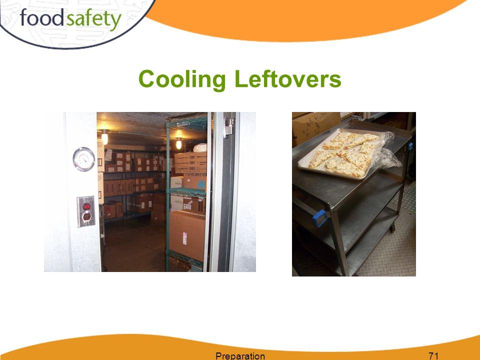 Cooling Leftovers Preparation71