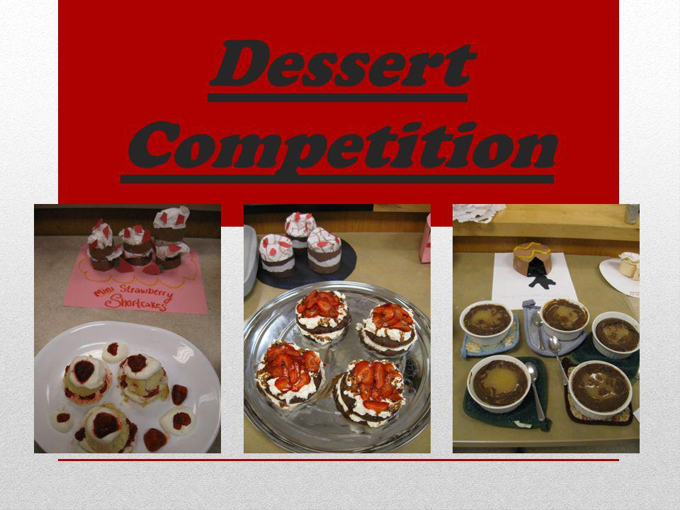 Dessert Competition