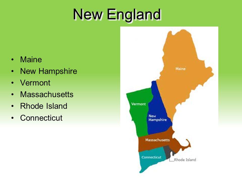 Your Description Goes Here New England Maine New Hampshire Vermont Massachusetts Rhode Island Connecticut