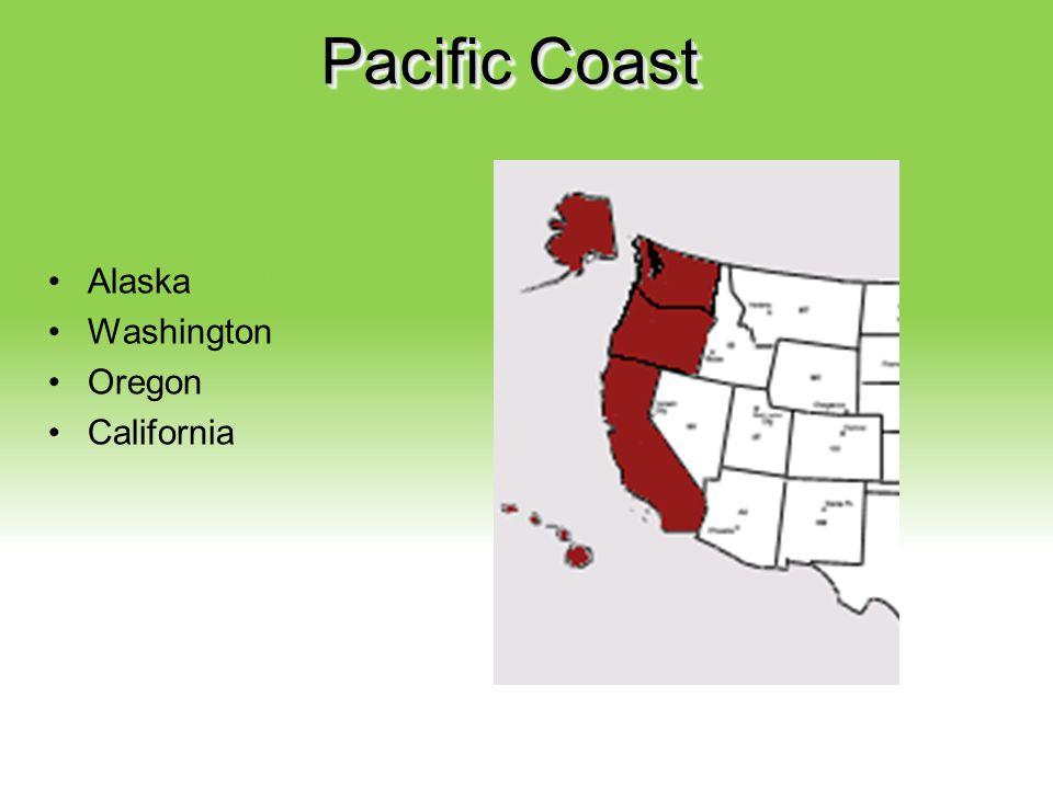 Your Description Goes Here Pacific Coast Alaska Washington Oregon California